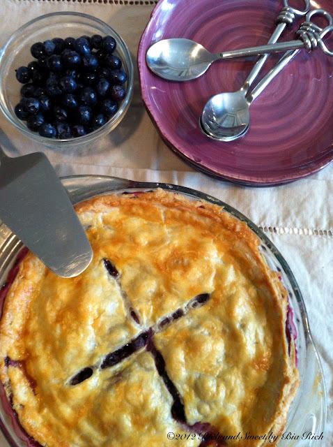 Lemon Blueberry Pie