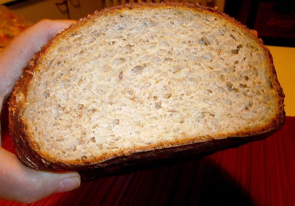 Kváskový chlieb so zemiakom