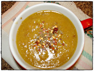 Sopa Rústica de Mandioquinha e Carne