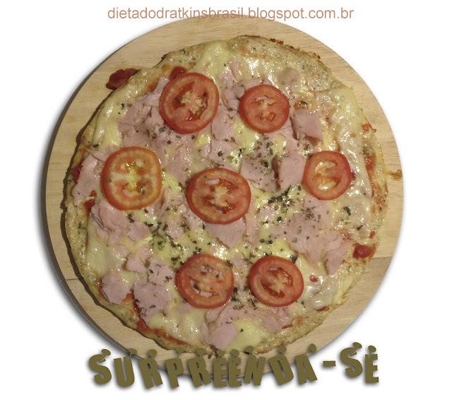 Pizza Catarina: ninguém vai adivinhar o que é!!!