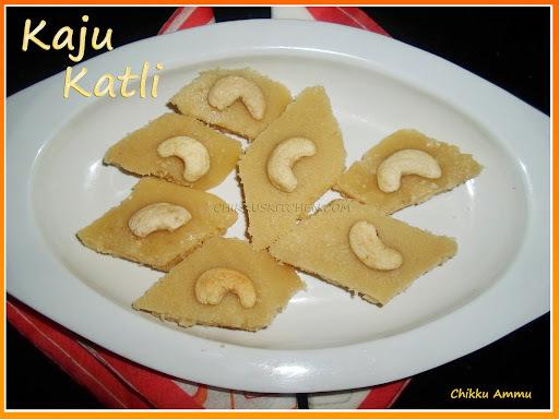 Kaju Katli Recipe / Diwali Recipe / Kaju Burfi