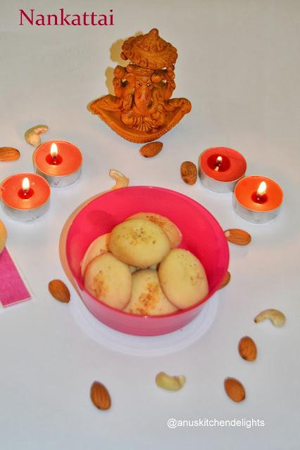Nan Khatai / Butter Cookies / Ghee Cookies