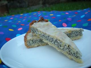 Queque-kuchen de amapola