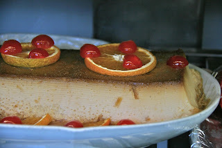 pastel de pan duro