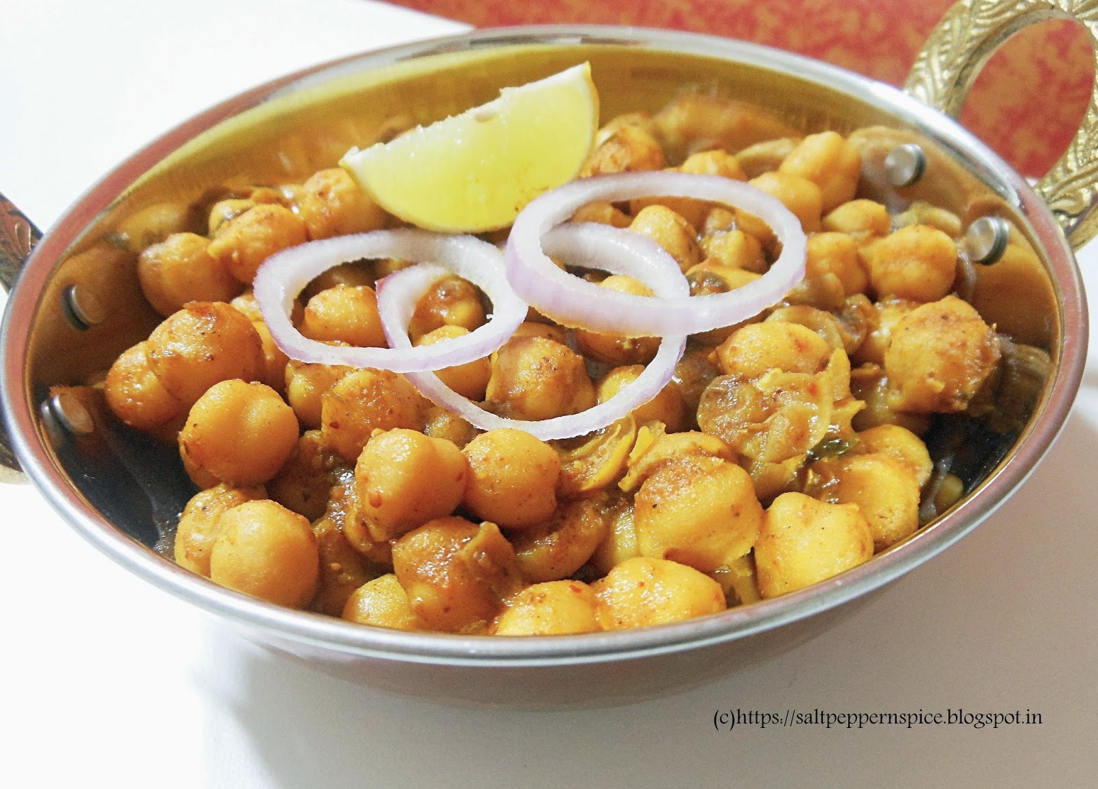 Punjabi Chhole Recipe for Chhole Bhature