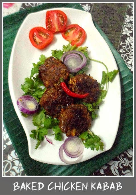 Baked Chicken Kabab
