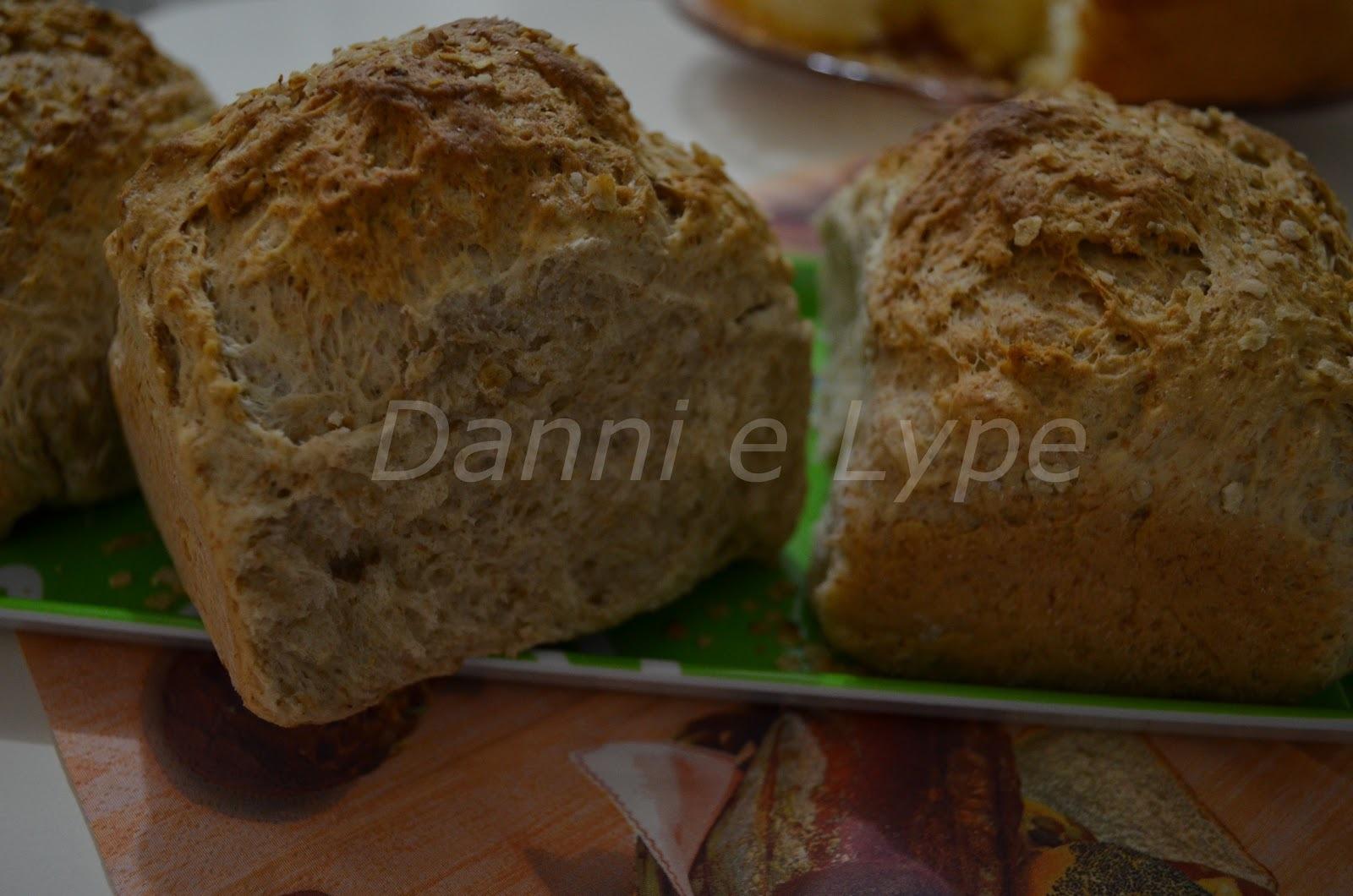 pão integral caseiro simples