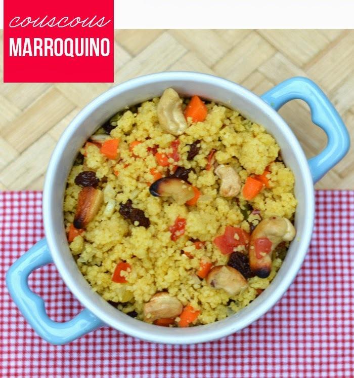 {cozinha preguiçosa} Couscous marroquino