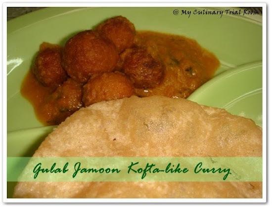 Gulab Jamoon Paneer Kofta Curry