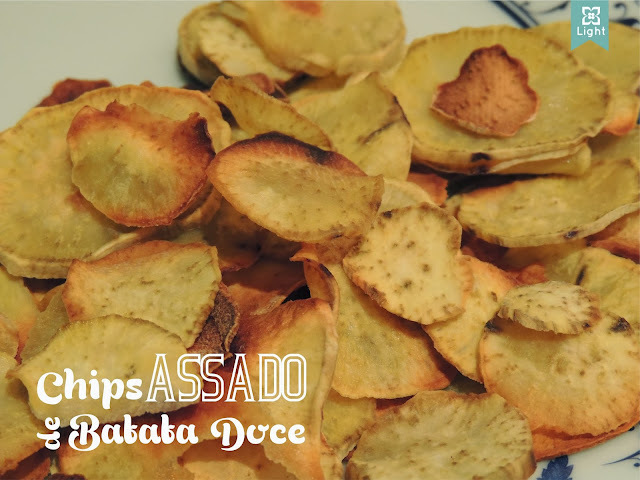 Chips Assado de Batata Doce