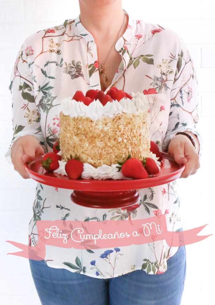 Strawberry Shortcake - Mi pastel de cumpleaños
