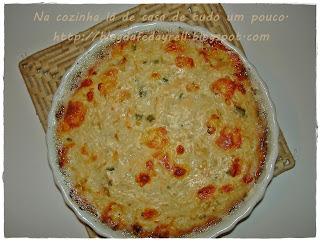 bolinho de arroz assado sem queijo ralado