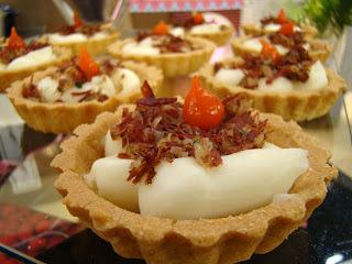 FAÇA & VENDA - Tartelete de Carne Seca com Requeijão