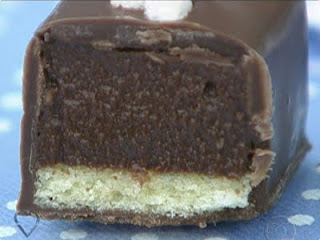 Retângulos de Laranja e Chocolate