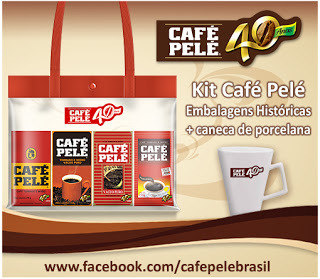 Sorteio Kit Café Pelé - Último dia!