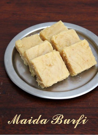 milk burfi with condensed milk