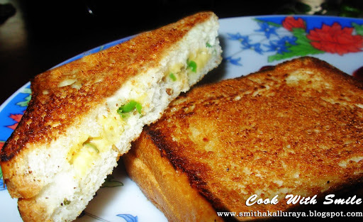 CHILLI CHEESE SANDWICH