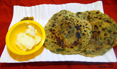 Sabzi for paratha