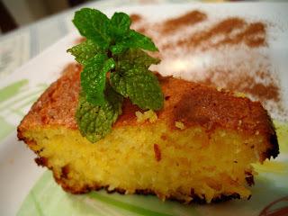 (Festa Junina) Bolo delícia de Milho e chá de quentão