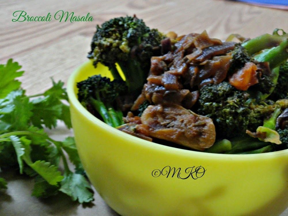 Broccoli Poriyal/Easy LunchBox recipes