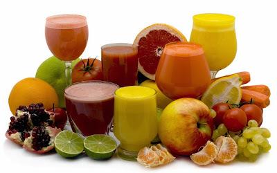 Suco de frutas com legumes e verduras - combate diversos males