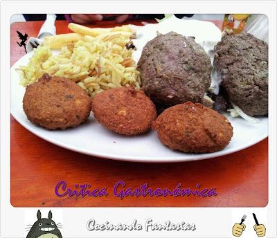 Sherezade, comida árabe en Patronato