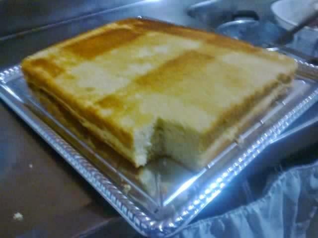 Massa de bolo leve e fofinha