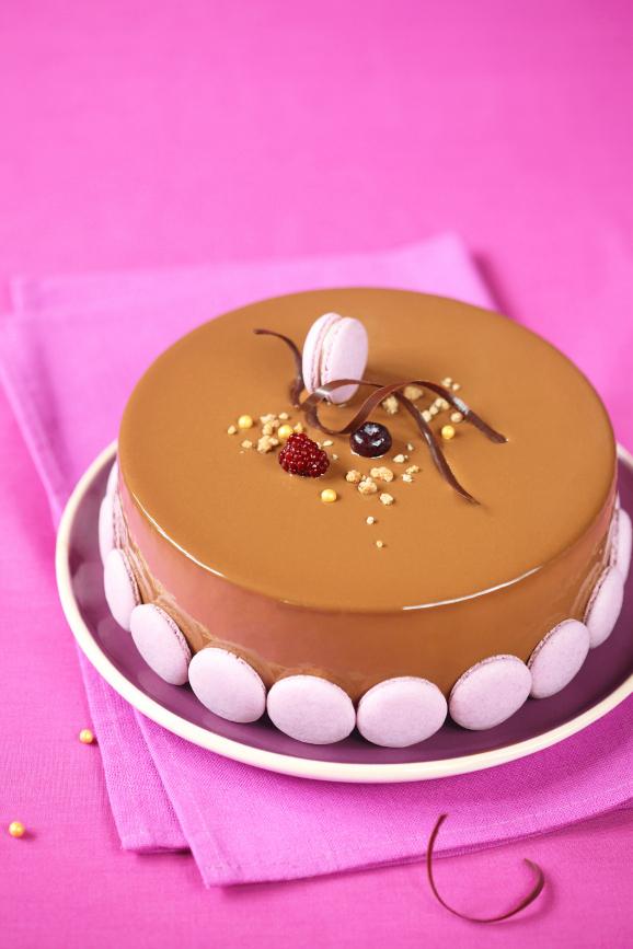 Чернично-яблочный торт с молочным шоколадом и корицей / Torta de mirtilo, maçã e chocolate ao leite com canela