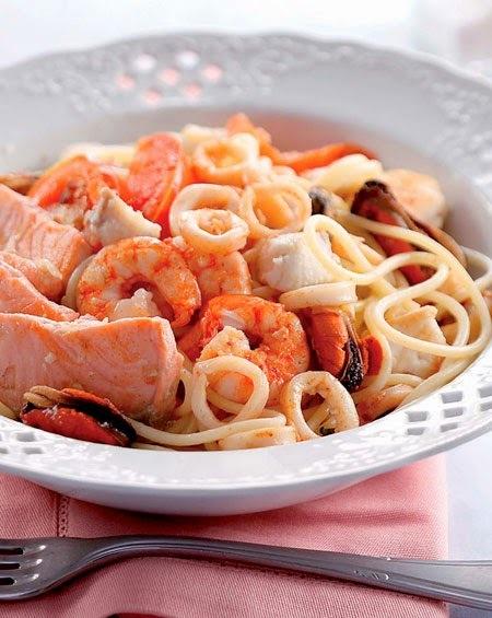 Espaguete com Frutos do Mar 07