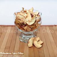 como fazer chips de maça na airfryer