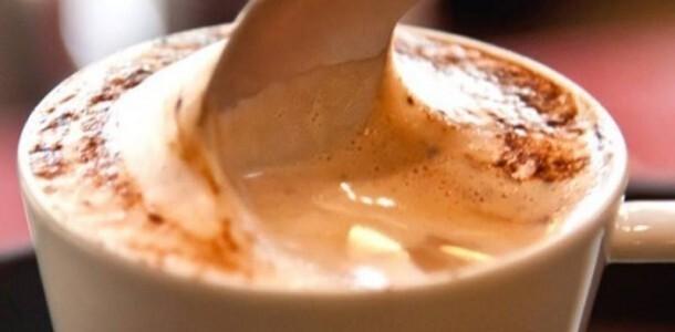 água açucar café capuccino