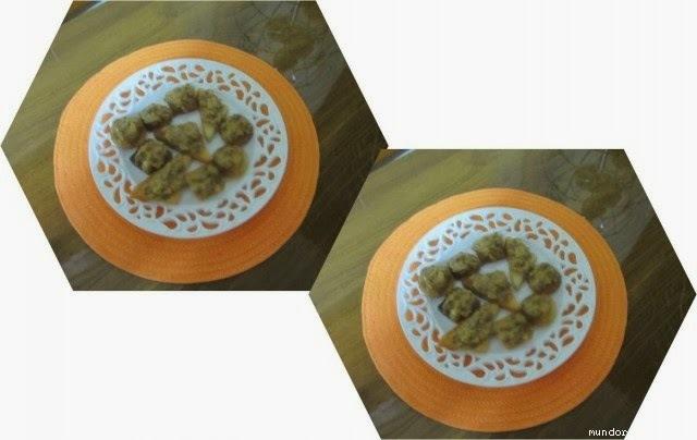 canapes de pan de molde