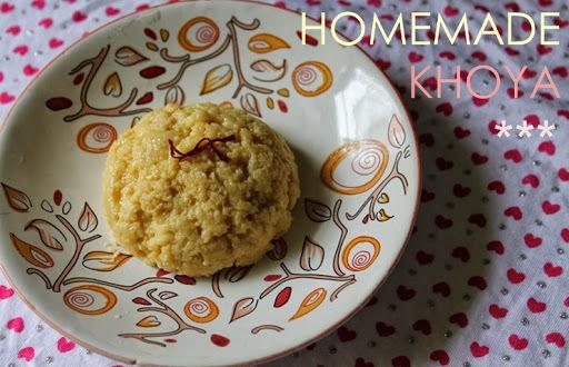 khoya sweets without sugar