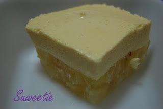 doce de abacaxi com gelatina creme de leite e leite condensado