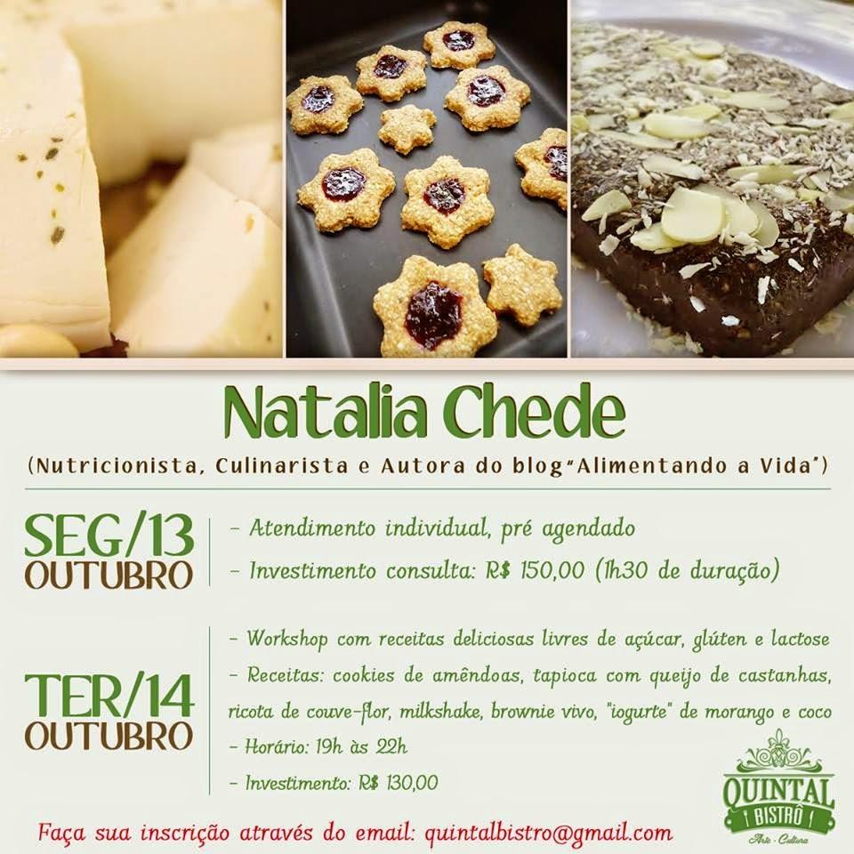 Curso de culinária e atendimentos em nutrição vegetariana no Rio de Janeiro