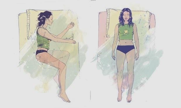 Dor no corpo? Veja qual a melhor posição para dormir em cada caso