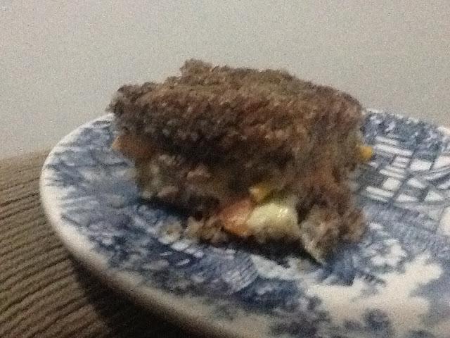 de kibe assado recheado com carne moida