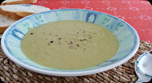 Recipe ~ Leek and potato soup