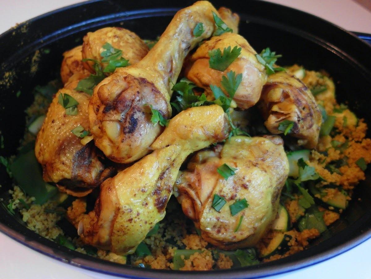 Indické kura s kuskusom, moja obľúbená klasika