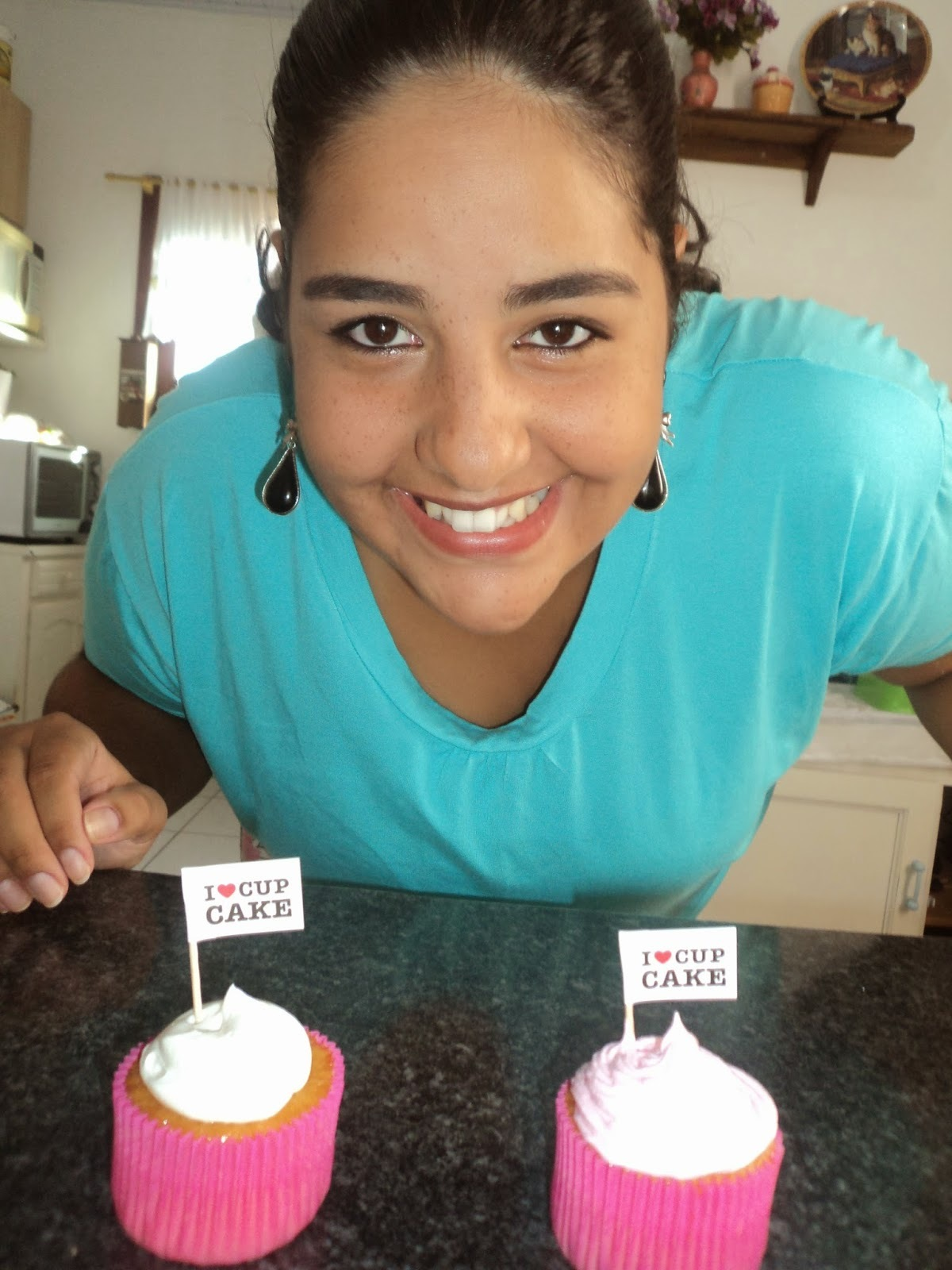 glace de leite em pó para cupcake