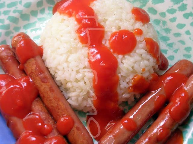 Arroz de guarnición - arroz a MI  cubana