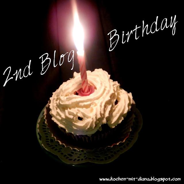 2tes Blog Geburtstag & ein kleines Gewinnspiel/ 2nd blog anniversary & a giveaway