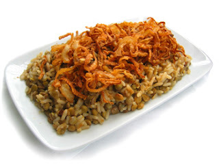 lentilha com arroz e cenoura