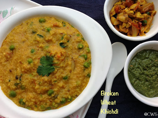 Fada ni Khichdi /Broken Wheat Khichdi