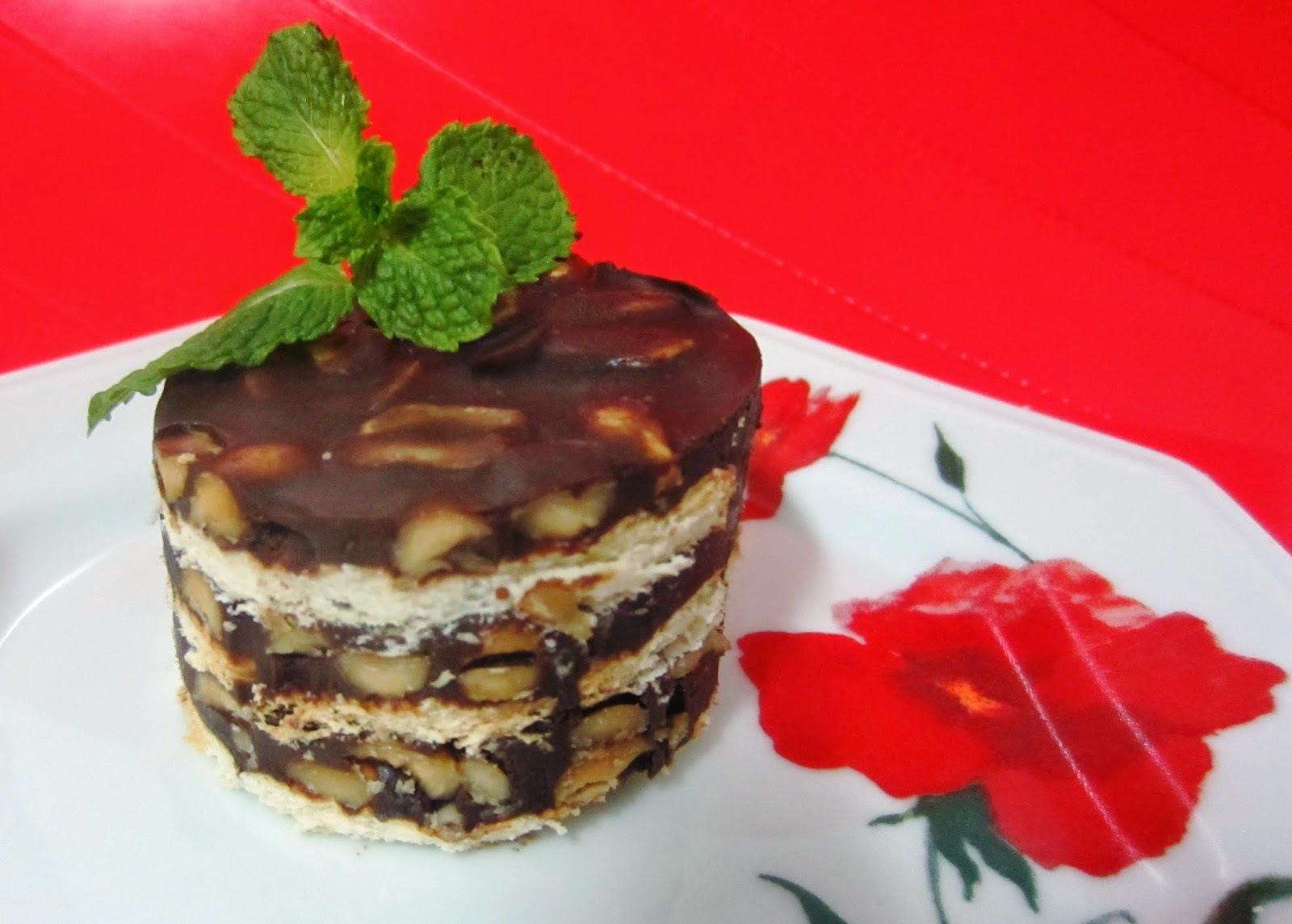 Torta Russa – ou Torta Shot Amendoim