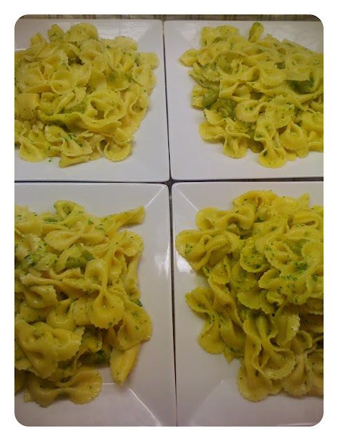Pasta with Salsa de Zapallitos