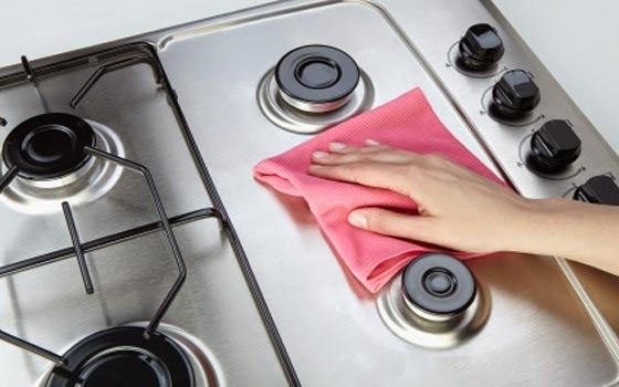 Limpar Gordura de Fogão Fácil