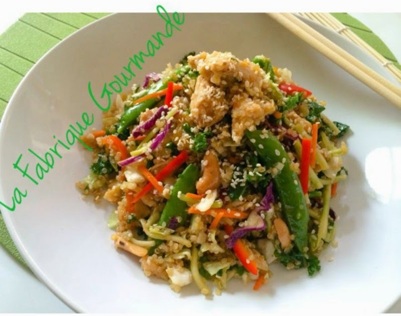 Salade de Quinoa façon Asiatique