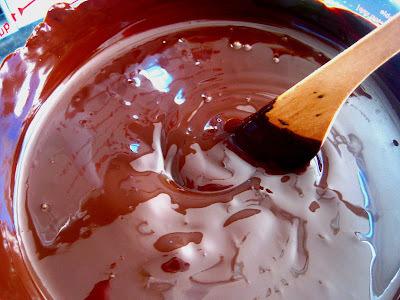 Flawless flourless chocolate cake