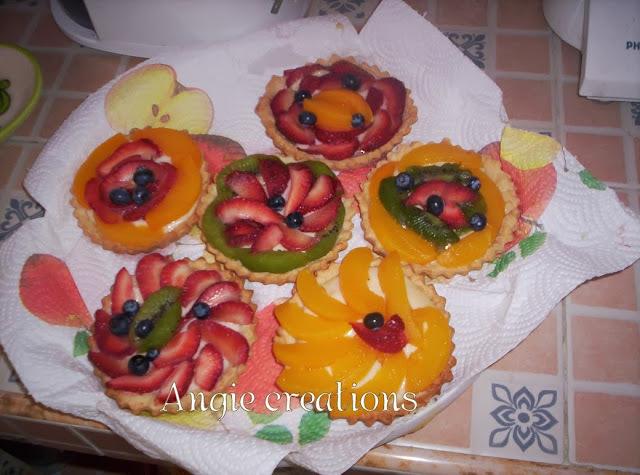 Tartaletas con frutas
